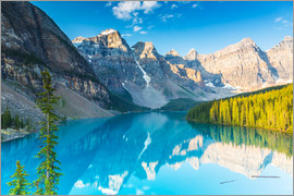 rclassen - Moraine Lake in den Rocky Mountains - Kanada
