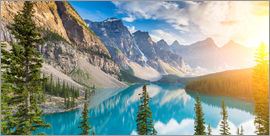 rclassen - Moraine Lake panorama, Banff National Park, Alberta, Kanada