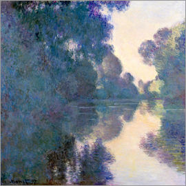 Claude Monet - Morgen an der Seine