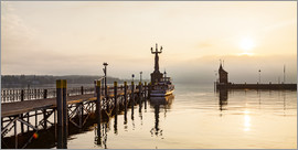 Dieterich Fotografie - Morning mood in Constance on Lake Constance