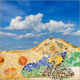 Mosaic in the Park Güell