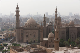 Martin Child - Mosque of Sultan Hassan in Cairo old town, Cairo, Egypt, North Africa, Africa