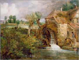 John Constable - Mühle in Gillingham
