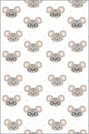 Kidz Collection - Pattern with mice