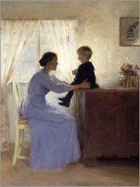 Peter Vilhelm Ilsted - Mutter und Kind