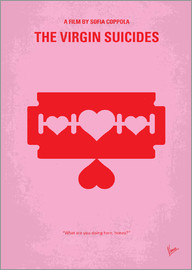 chungkong - My The Virgin Suicides minimal movie poster