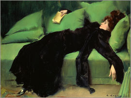 Ramon Casas i Carbo - Nach dem Ball