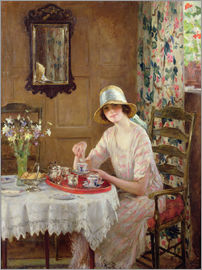William Henry Margetson - Nachmittagstee