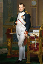 Jacques-Louis David - Napoleon in seiner Stube bei Tuileries