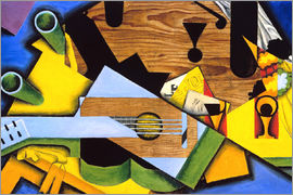 Juan Gris - Nature morte à la guitare