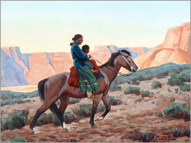 Maynard Dixon - Navajo Mutter
