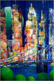 Gerhard Kraus - New York, Brooklyn Bridge