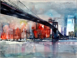Johann Pickl - New York, Brooklyn Bridge IV