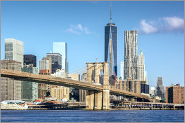newfrontiers photography - New York: Brooklyn Bridge und World Trade Center