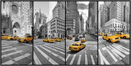 Marcus Klepper - New York Cab Collage
