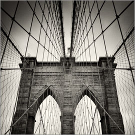 Alexander Voss - New York City - Brooklyn Bridge (Analogfotografie)