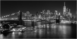 newfrontiers photography - New York City by Night (monochrom)