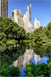newfrontiers photography - New York City - Central Park (the Pond)