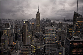 David Rocaberti - New York City Skyline von oben