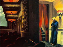 Edward Hopper - New York Movie
