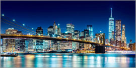 newfrontiers photography - New York leuchtende Skyline