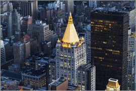 Axiom RF - New York Life Insurance Building, as seen from the Empire State Building, New York City, New York, U