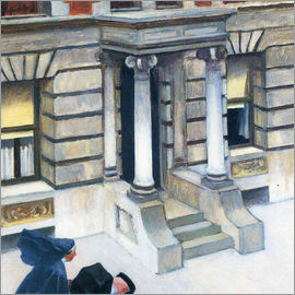 Edward Hopper - New York Pavements