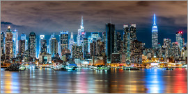 Sascha Kilmer - New York Skyline by Night