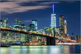 newfrontiers photography - New York Skyline und Brooklyn Bridge