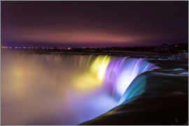 Mike Clegg Photography - Niagara Falls in der Nacht