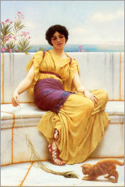 John William Godward - Nichtstun