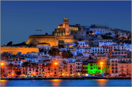 HADYPHOTO by Hady Khandani - NIGHTFALL IBIZA OLD CITY