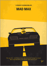 chungkong - No051 My Mad Max 1 minimal movie poster