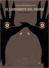 chungkong - No061 My Pans Labyrinth minimal movie poster