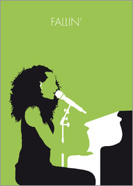 chungkong - No066 MY ALICIA KEYS Minimal Music poster