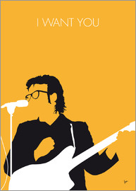 chungkong - No067 MY ELVIS COSTELLO Minimal Music poster