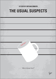 chungkong - No095 My The usual suspects minimal movie poster