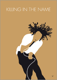 chungkong - No100 MY Rage Against the Machine Minimal Music poster