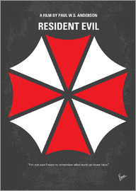 chungkong - No119 My RESIDENT EVIL minimal movie poster