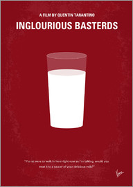 chungkong - No138 My Inglourious Basterds minimal movie poster