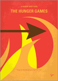 chungkong - No175 1 My Hunger Games minimal movie poster