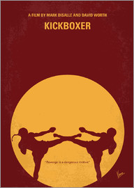 chungkong - No178 My Kickboxer minimal movie poster