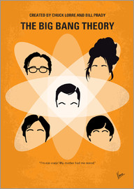 chungkong - No196 My The Big Bang Theory minimal poster