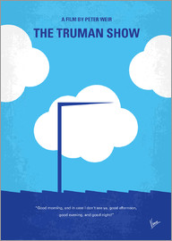 chungkong - No234 My Truman show minimal movie poster