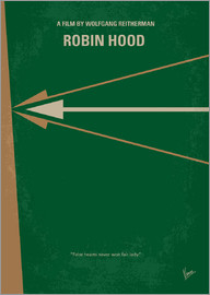 chungkong - No237 My Robin Hood minimal movie poster