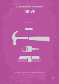 chungkong - No258 My DRIVE minimal movie poster