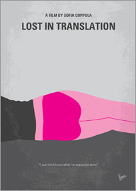 chungkong - No287 My Lost in Translation minimal movie poster