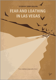 chungkong - No293 My Fear and loathing Las vegas minimal movie poster