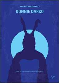 chungkong - No295 My Donnie Darko minimal movie poster