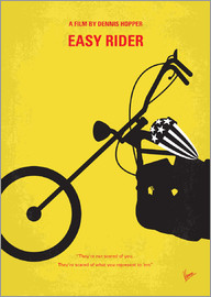 chungkong - No333 My EASY RIDER minimal movie poster